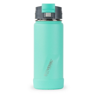 EcoVessel 16oz Perk Insulated Coffee Travel Mug Tumbler with Steel Tea Strainer