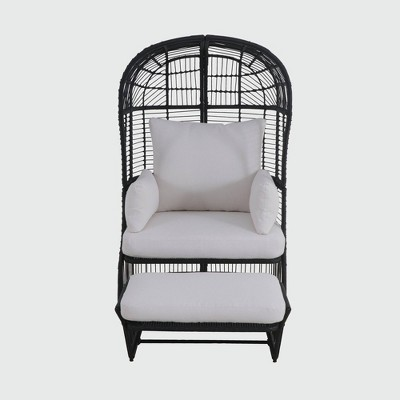 Patio Egg Chair with Ottoman - Project 62™