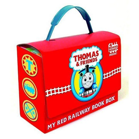 Thomas and Friends: My Red Railway Book Box (Board Book) by W. Awdry - image 1 of 2
