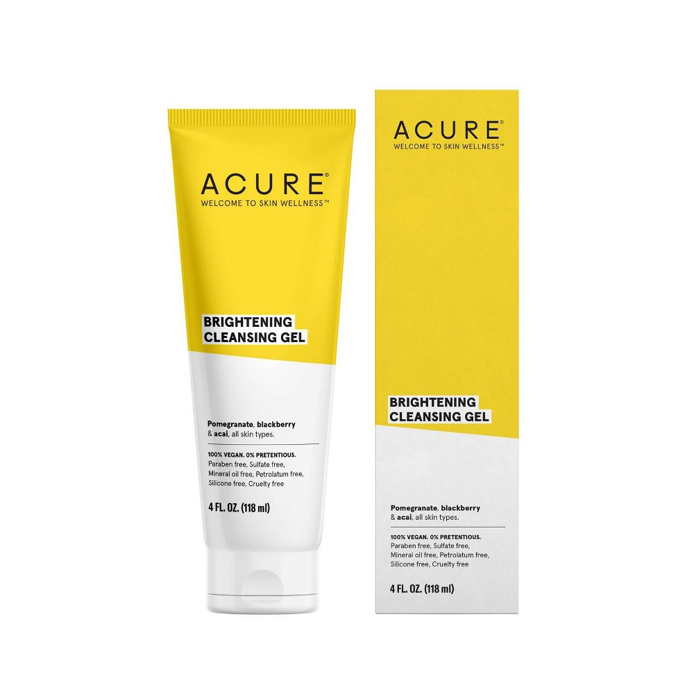 Image of Acure Brightening Cleansing Gel - 4 fl oz