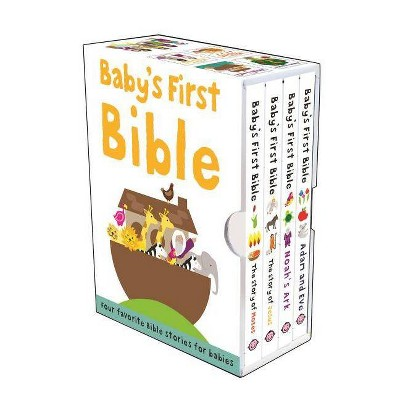 Baby's First Bible Boxed Set - (Bible Stories)by Roger Priddy (Mixed Media Product)