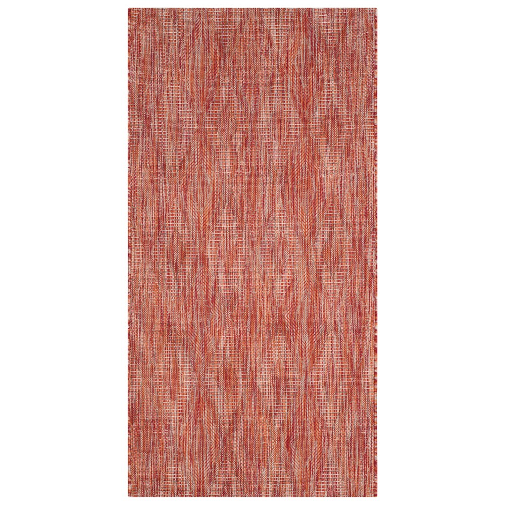 2 39 7 34 X 5 39 Bolton Outdoor Rug Red Safavieh