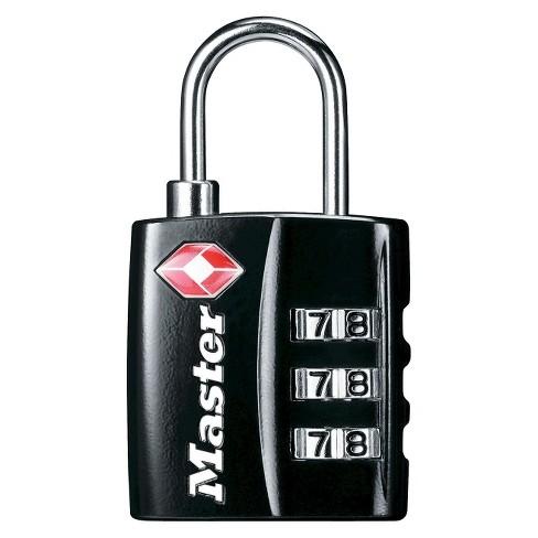 Master Lock 30mm Combination Lock Black - image 1 of 1