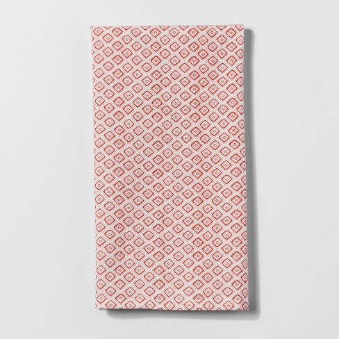Monarch Orange Diamond Kitchen Towel - Threshold™ - image 1 of 1
