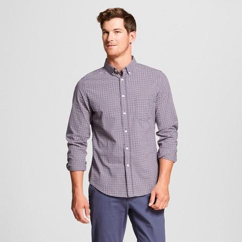 cc283f1b831 Men's Slim Fit Northrop Long Sleeve Button-Down Shirt - Goodfellow & Co™  Dusk Pink M : Target