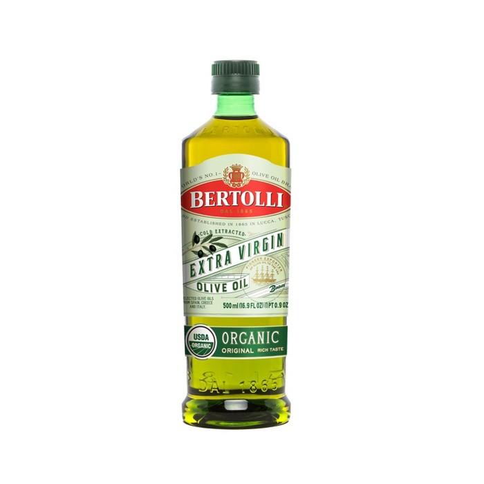 Bertolli Organic Extra Virgin Olive Oil - 16.9oz - image 1 of 4