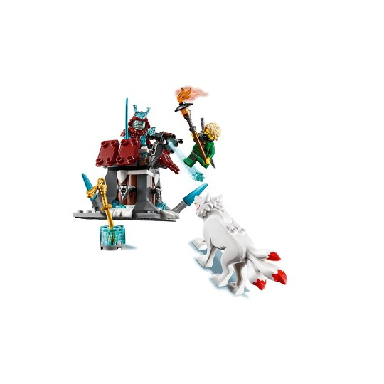LEGO Ninjago Lloyd's Journey 70671 Toy Fortress Building Set with Lloyd Minifigure 81pc image number null