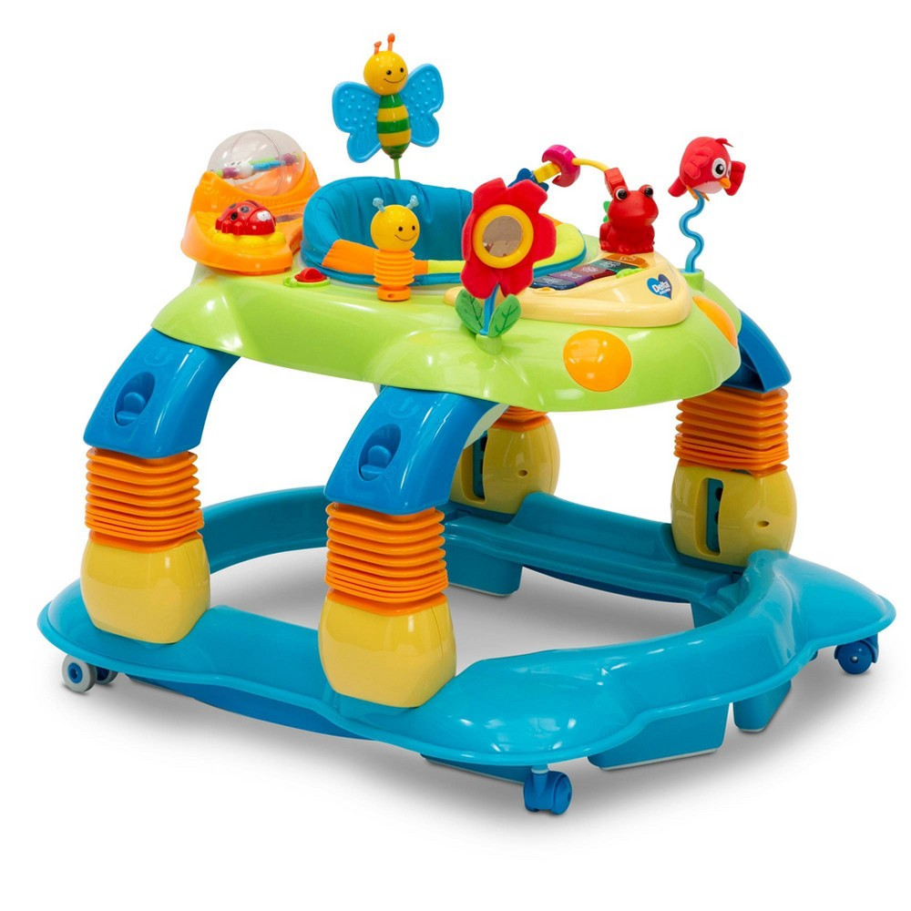 Image of Delta Children Lil Play Station 4-in-1 Activity Walker - Blue