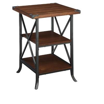 Brookline End Table Dark Walnut - Johar Furniture
