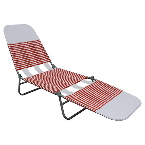 Jelly Lounger Red/White - Room Essentials™ - image 1 of 1