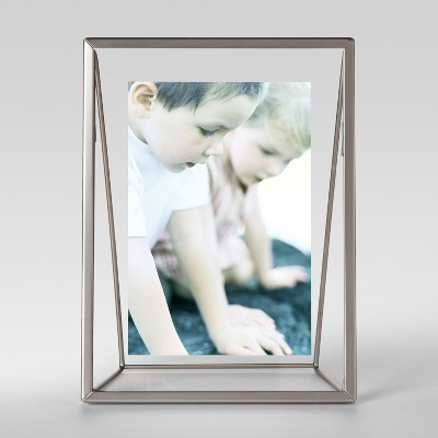 Easel Single Image Frame 4x6 Silver - Project 62™