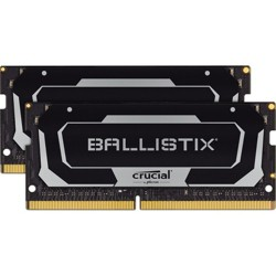 Crucial Ballistix 64GB DDR4 SDRAM Memory Module - For Notebook - 64 GB (2 x 32 GB) - DDR4-3200/PC4-25600 DDR4 SDRAM - CL16 - 1.35 V - Unbuffered