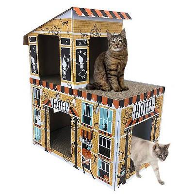 Deluxe Haunted Hotel Cat Scratcher - Hyde & EEK! Boutique™