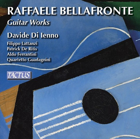 Davide di lenno - Bellafronte:Guitar works (CD) - image 1 of 1