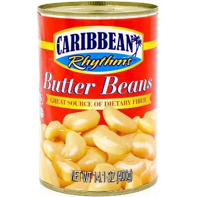 Caribbean Rhythms Butter Beans - 14.1oz