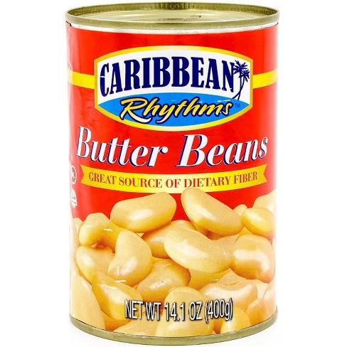 Caribbean Rhythms Butter Beans - 14.1oz - image 1 of 3
