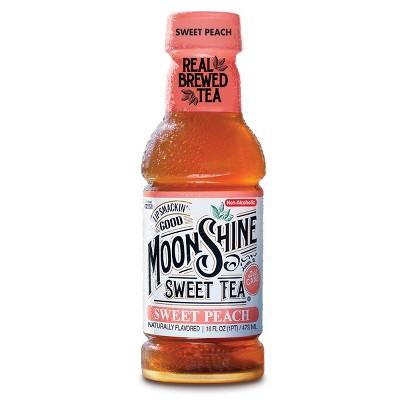 MoonShine Sweet Tea Sweet Peach 16oz