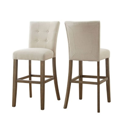 """24"""" Set of 2 Debby Counter Height Barstools - Steve Silver"""