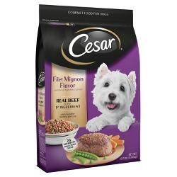 Cesar Dry Filet Mignon Flavor with Spring Vegetables - Dry Dog Food - 12lb