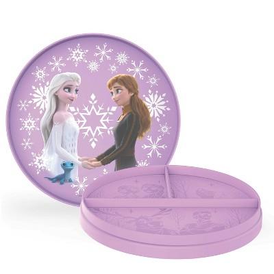 Frozen 2 Plastic Flip-It Plates - Zak Designs