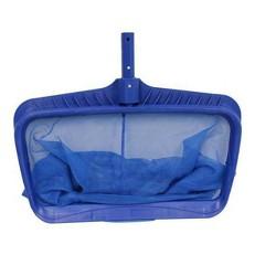 "Pool Central Heavy Duty Deep-Bag Swimming Pool Leaf Rake Skimmer Head 19.75"" - Blue"