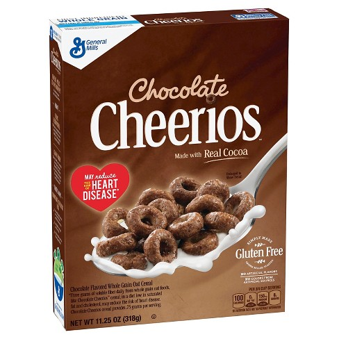 Cheerios Chocolate Breakfast Cereal - 11.25oz - General Mills - image 1 of 7