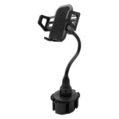 """Macally Thicker Phone Holder With 15"""" Tall and Big Cupholder Mount"""