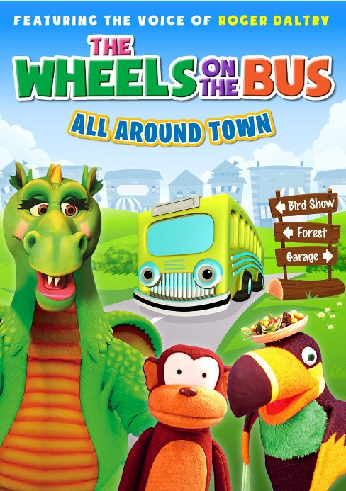 Wheels on the bus:All around town (DVD) - image 1 of 1
