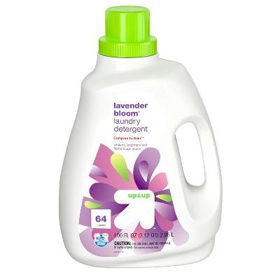 Lavender HE Liquid Laundry Detergent - 100 fl oz - up & up™