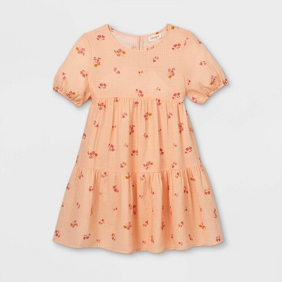 Girls' Tiered Floral Dress - Cat & Jack™