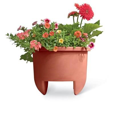 Home Dek-Decor 12 Inch Planter for Inch Railing - Gardener's Supply Company