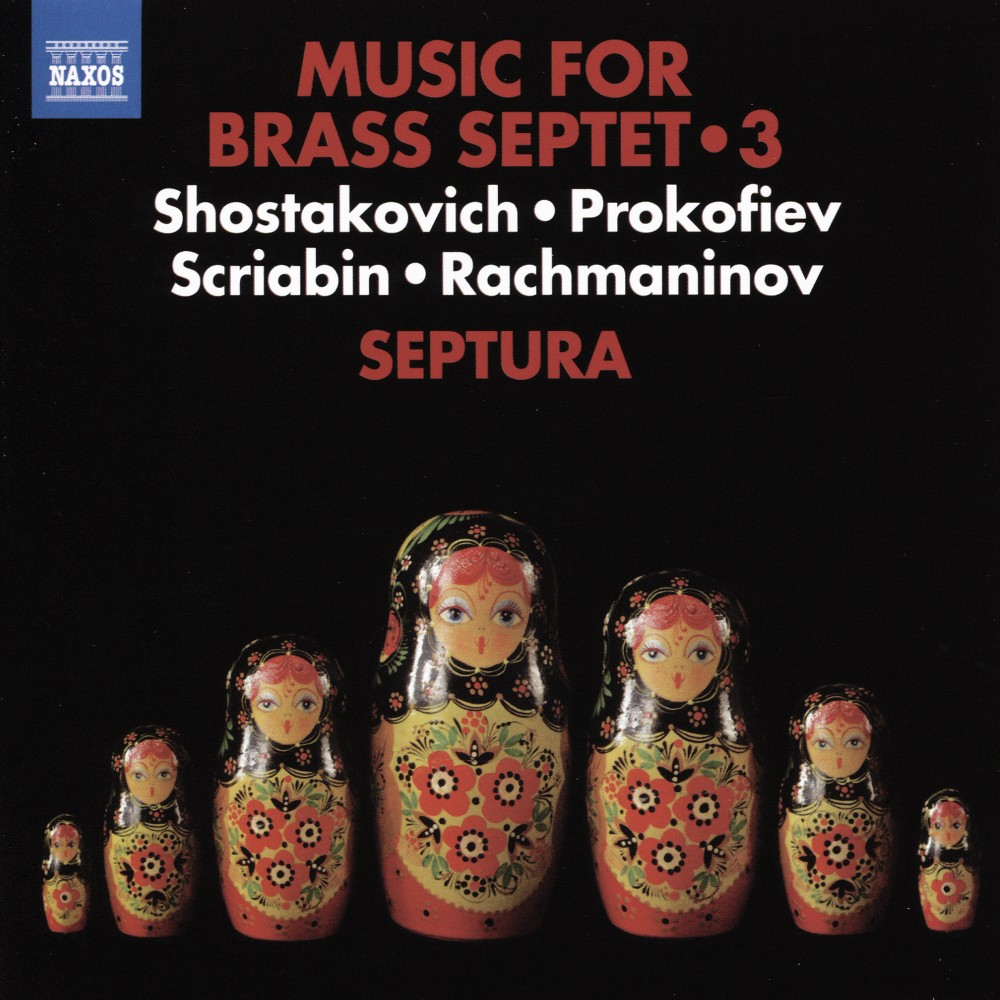 Septura - Music For Brass Septet:Vol 3 (CD)