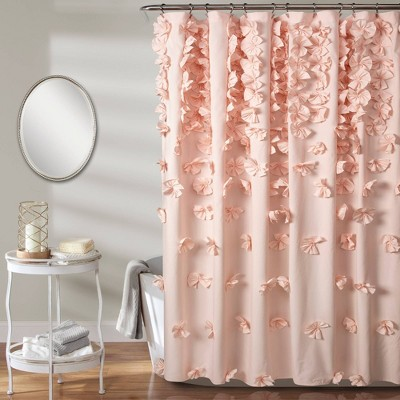 "72""x72"" Riley Shower Curtain - Lush Décor"