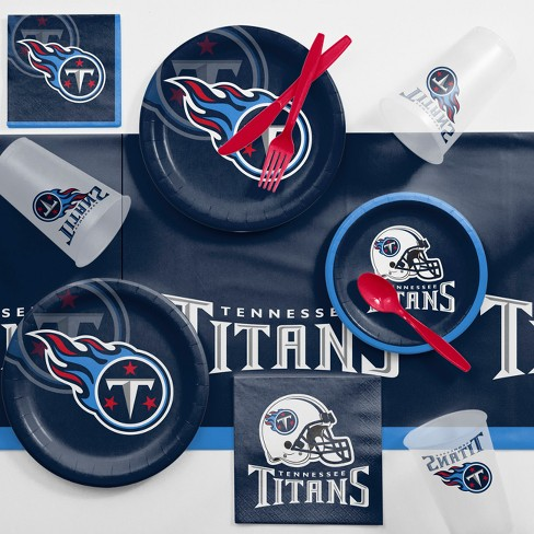 NFL Navy Blue Tennessee Titans Game Day Party Supplies Kit - image 1 of 1