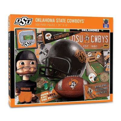 NCAA Oklahoma State Cowboys Throwback Puzzle 500pc