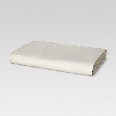 Ultra Soft Flat Sheet (Queen)Ivory 300 Thread Count - Threshold™