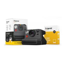 Polaroid Now Camera and Film Bundle - Black