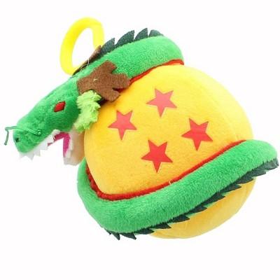 Games Alliance Dragon Ball Z 5-Inch Shenron Plush Backpack Clip