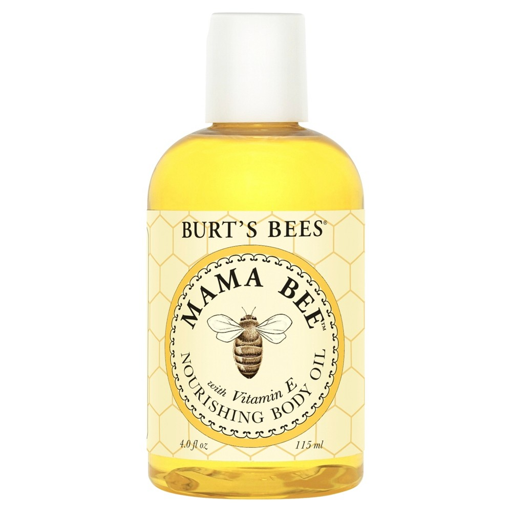 Image of Burt's Bees Mama Bee Nourishing Body Oil - 4 oz