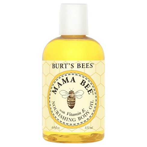 Burt's Bees Mama Bee Nourishing Body Oil - 4 oz - image 1 of 3