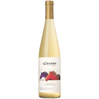 14 Hands Riesling White Wine - 750ml Bottle