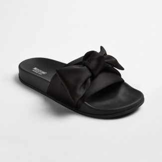Womens Julisa Slide Sandals With a Bow - Mossimo Supply Co.™ Black 9