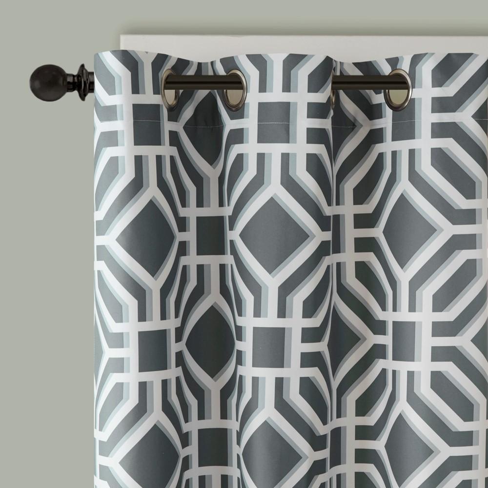 Lauren Window Curtain Gray 42x63