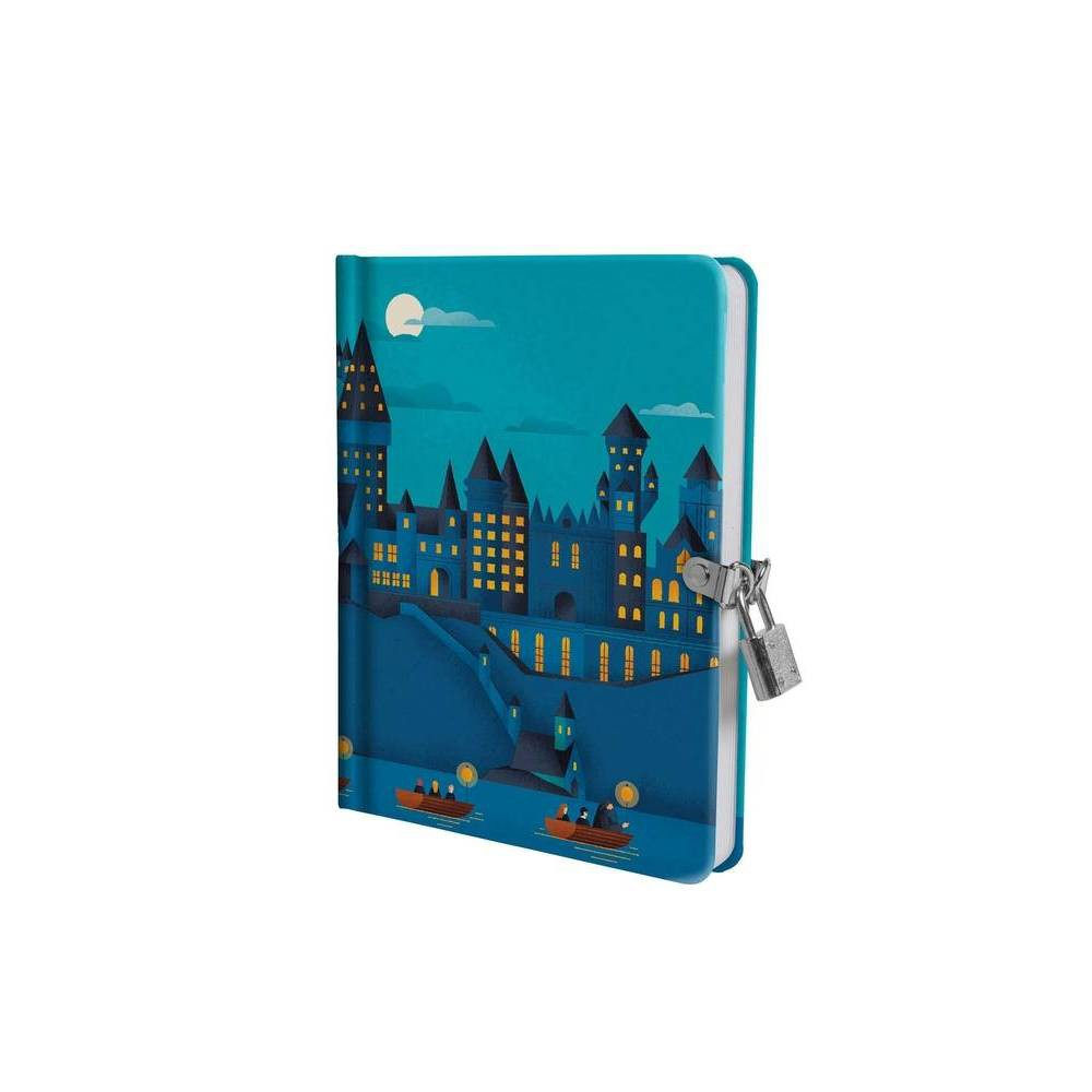 Harry Potter Hogwarts Castle Glow In The Dark Lock Key Diary By Insight Editions Hardcover