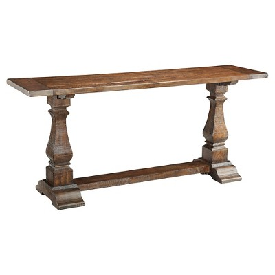 Console Table Brown - Treasure Trove