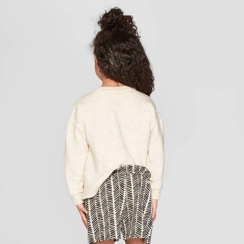 f7ab978e2b4 Toddler Girls   The Cacatua  Sweatshirt - Art Class™ Cream 4T   Target