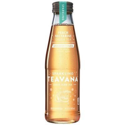 Teavana Sparkling Peach Nectarine Green Unsweetened Tea - 14.5 fl oz