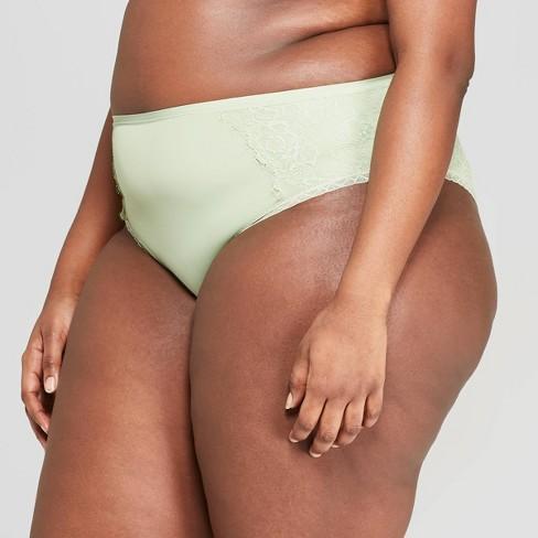 5e9b2841b78 Women's Plus Size Micro Cheeky With Lace - Auden™ Kiwi Green 2X : Target