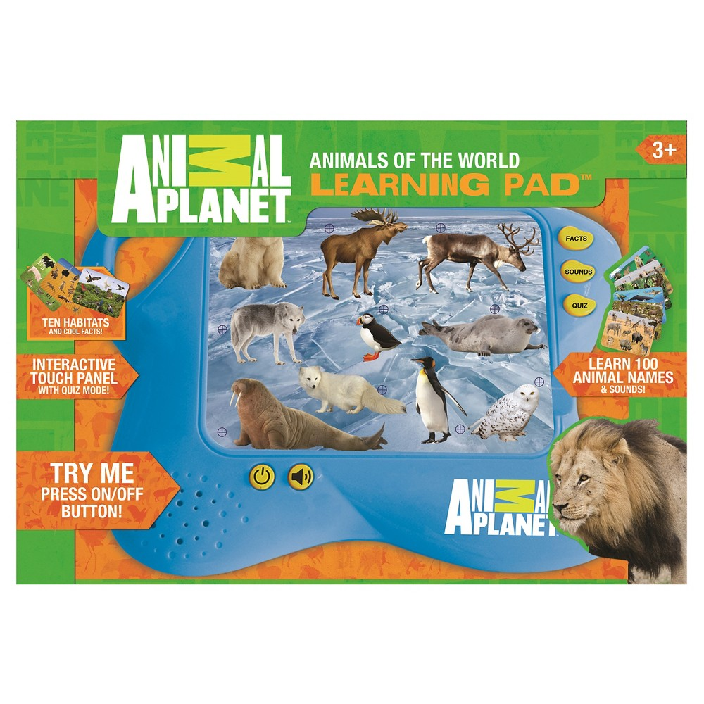 Smart Play Animal Planet Animals of World Learning Pad Interactive Toy