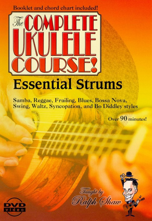 Essential strums for the ukulele (DVD) - image 1 of 1